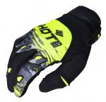 SHOT - Contact Counter Gloves - Grey/Yellow